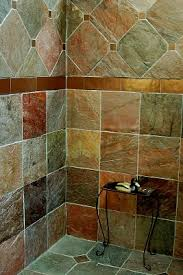 Rustic Bathtub Tile Surround by Bathroom Shower Ideas On Rustic Bathroom Walk In Shower Tile