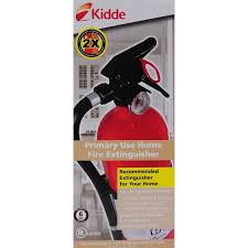 Kidde Semi Recessed Fire Extinguisher Cabinets by Full Home Fire Extinguisher Walmart Com