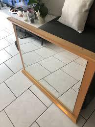 wand spiegel holz wohnzimmer eingang flur zimmer 87x71 cm bxh