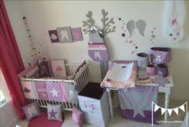chambre b b fille deco chambre bebe fille violet 2 evtod systembase co
