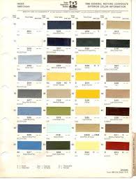 100 Chevrolet Truck Colors Chevy Paint Codes New Paint Code Location