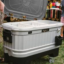 Igloo Coolers | Party Bar Liddup 125 Qt Cooler-Silver/Smoke Patio Cooler Stand Project 2 Patios Cabin And Lakes 11 Best Beverage Coolers For Summer 2017 Reviews Of Large Kruses Workshop Party Table With Built In Beerwine Ice How To Build A Wood Deck Fox Hollow Cottage Diy Your Backyard Wheelbarrow Foil Smoker Outdoor Decorations Beer Wooden Plans Home Decoration 25 Unique Cooler Ideas On Pinterest Diy Chest Man Cave Backyard Our Preppy Lounge Area Thoughtful Place