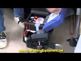 Clam Ice Fishing Seats by Ice Fishing Chair For Ice Fish Its A Keeper Youtube