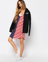 Vans Drop Back Vest Dress In American Dots Stripes And Dre Womenvans Tumblr