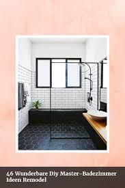 46 Cool Small Master Bathroom Cool 46 Wunderbare Diy Master Badezimmer Ideen Remodel 46