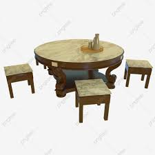 C4d Round Table Chair Marble, C4d Round Table, Stool ...