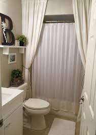 Shower Curtain Ideas For Small Bathrooms Pin By Bee On This House Our Home Bathroom
