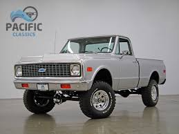 1972 Chevrolet C10 4x4 New Wheels - YouTube