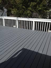 Behr Premium Deck Stain Solid by Benjamin Moore U0027s Arborcoat Ashland Slate Floor Outdoor Living