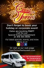 100 Casa Torres Restaurant Banquets Traditional Fine Mexican Cuisine