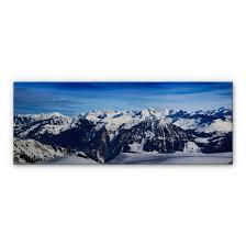 alu dibond bild alpenpanorama