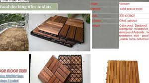 how to wood deck tiles outdoor flooring tiles