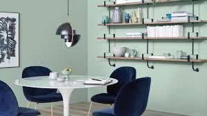 trendfarbe spa schöner wohnen farbe moderne esszimmer grün