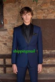 made slim fit black 3 piece mens blazer double breasted suit men