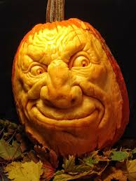 Preserving A Carved Pumpkin by How To Carve A Realistic Face On A Pumpkin 11 Steps With Pictures
