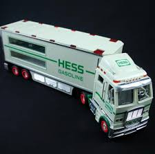 100 Hess Truck Toy With Working Lights Advertising Collectible