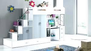 bureau superposé chambre garcon lit superpose lit mezzanine bureau ado lit compact