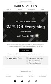 Black Friday Karen Millen Email With Discount Coupon Code ... Discover Gift Card Coupon Amazon O Reilly Promo Codes 2019 Everyday Deals On Clothes And Accsories For Women Men Strivectin Promotion Code Old Spaghetti Factory Calgary Menu Gymshark Discount Off Tested Verified December 40 Amazing Rources To Master The Art Of Promoting Your Zalora Promo Code 15 Off 12 Sale Discounts Jcrew Drses Cashmere For Children Aldo 10 Dragon Ball Z Tickets Lidl Weekend Deals 24 Jan Sol Organix Fox Theatre Nutcracker