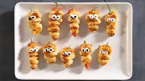 Happy Living Halloween Jalapeno Poppers by How To Make Stuffed Pepper Mummies Sunset Youtube