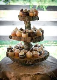 Rustic Cake Stands Cupcake Stand 2 Tier Wedding Hire Uk
