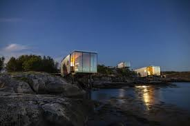 100 The Island Retreat Aluminum Cabins Add A Shimmer To Arctic Island Retreat