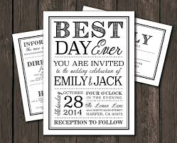 Printable Wedding Invitations Etsy Zoom