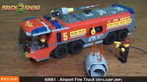 LEGO City Airport Fire Truck Review : LEGO 60061 - YouTube Action Town 1467 Airport Fire Truck Lego Itructions 60061 City Onetwobrick11 Set Database 4208 Fire Truck 60111 Utility Mixed By Amazonca Shodans Blog Creating My First Big Display Part 1 Brktasticblog An 2014 Stop Motion Youtube Toysrus City Airport Fire Truck 7891 Lego 60002 And