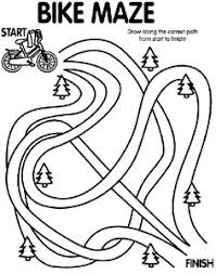 Bike Safety Coloring Pages 18 Activity Sheet Ages 4 To 7 Decorate The Helmet