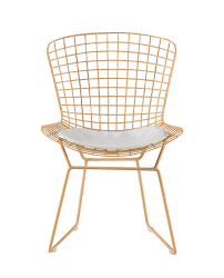 Holly Wire Dining Chair & Reviews   Joss & Main White Wire Diamond Ding Chair Fmi1157white The Home Depot Shop Poly And Bark Padget Eiffel Leg Set Of 2 Bottega Tower Ding Chair By Sohoconcept Luxemoderndesigncom Commercial Gold Leaf Shape Metal Chairgold Color Bellmont Bertoia Of Rose Harry Oster Black Project 62 In 2019 4 Wire Ding Chairs Black With Cushion 831 W Green Cushion Zuo Eurway Holly Reviews Joss Main Hashtag Bourquin Wayfair Simple Hollow For Living Room