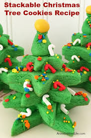 These Adorable Stackable Christmas Tree Cookies Are Easy To Make And A Lot Of Fun Decorate If You Want Special Holiday 3 D