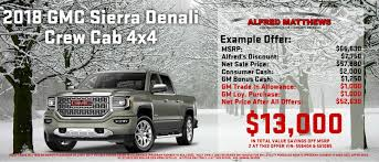 New & Used Car Dealer In Modesto - Alfred Matthews Buick GMC ... Gmc Specials Quirk Cars 2018 Yukon Styles Features Hlights 2006 Sierra 1500 For Sale Nationwide Autotrader Pickup Truck Beds Tailgates Used Takeoff Sacramento 2010 Hybrid Price Photos Reviews 2015 Sierra 2500hd Image 11 All New Denali 62l V8 Everything Youve Ever Savannah Buick Dealer Jones 1949 Chevygmc Brothers Classic Parts Gmc Diesel Trucks Luxury Lifted 2014 Chevy Pickups Recalled For Cylinderdeacvation Issue