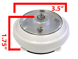 LED Under Cabinet Wireless Battery Operated Puck Light CLPL620