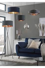 grey and copper 2 tier easy fit shade