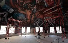 restauración de murales de orozco en la última etapa universidad