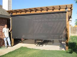 home design roll up sun screens for patios exterior patio