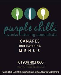 canape york canape menu events wedding catering purple chilli events