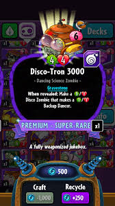 Smashing Pumpkins Wiki Ita by Disco Tron 3000 Plants Vs Zombies Heroes Plants Vs Zombies