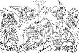Click To See Printable Version Of Nativity Christ Coloring Page