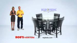 matinee 5 piece dining room set bob s discount furniture youtube