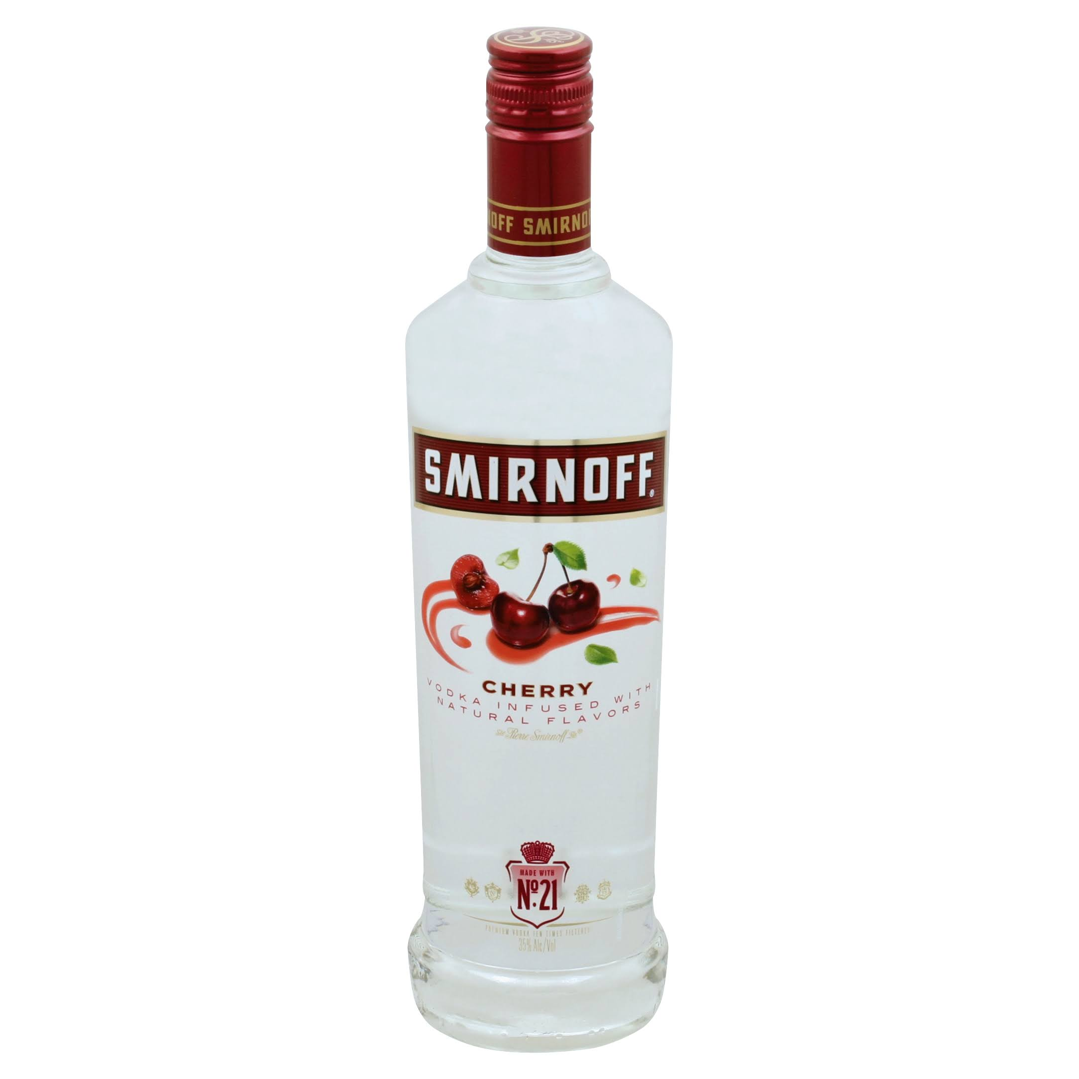 Smirnoff Vodka, Cherry - 750 ml