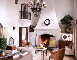 Get The Look Reese Witherspoons Elegant Rustic Ranch Living Room