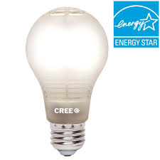 cree 60w equivalent soft white a19 dimmable led light bulb with 4