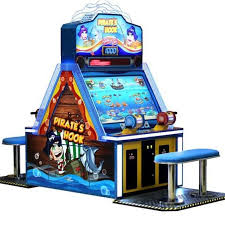 4 Player Arcade Cabinet Dimensions by Pirate U0027s Hook 4 Player Redemption Machine Fishing Based Video