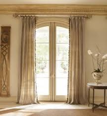 Kirsch Curtain Rods Jcpenney by Curtains For Arched Windows Looking Up Triple Arch Great Room
