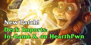 Alarm O Bot Deck Lich King by Hearthstone Patch Deck Imports U0026 Exports Card Stacking Questing