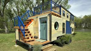 100 Small Trailer House Plans Tiny Home Custom TripleAxle Split Balcony House