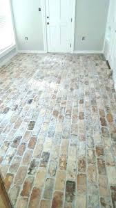 Fake Tile Floor Faux Brick Medium Size Of Concrete Wood Ceramic Flooring