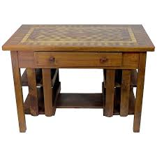 Stickley Mission Leather Sofa by Antique Arts And Crafts Gustav Stickley Mission Oak Library Table