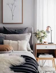 helle und trendige mitte jahrhundert moderne schlafzimmer