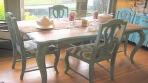 Chalk Paint Kitchen Table And Chairs Dining